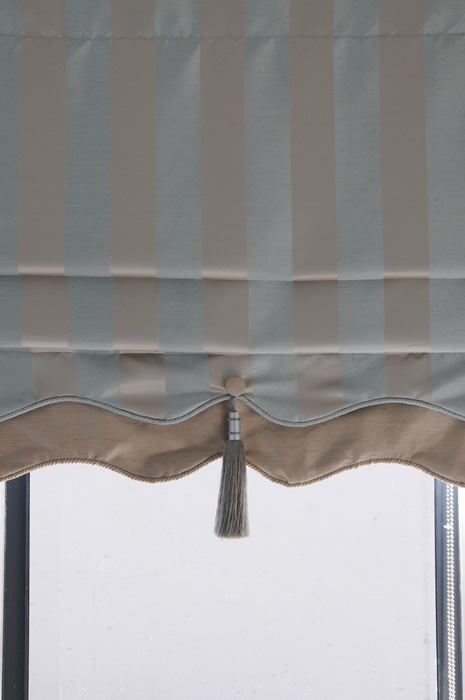 Fabric Fusion Roman Blinds